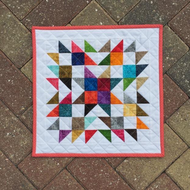 Summer Star Mini Quilt